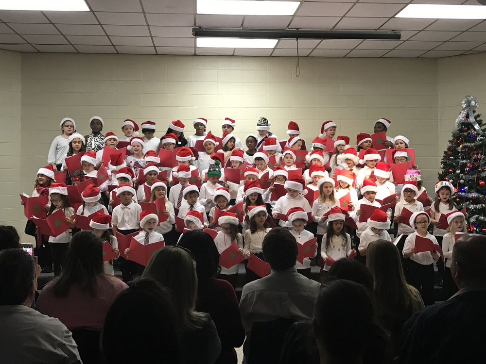 2016 2nd Grade Christmas Choir Program