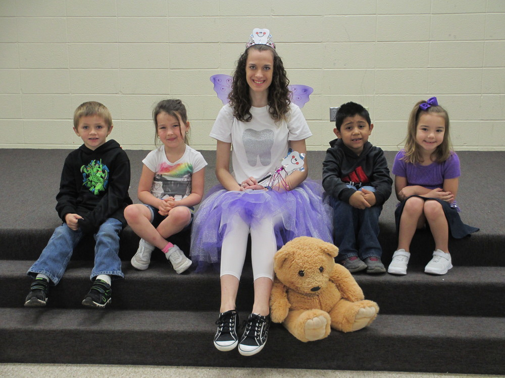 Tooth Fairy Visits Students