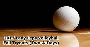 Lady Leps Volleyball Info.
